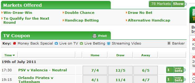 paddy power football betting odds